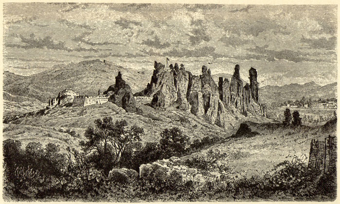 Belogradchik Fortress by Felix Philipp Kanitz